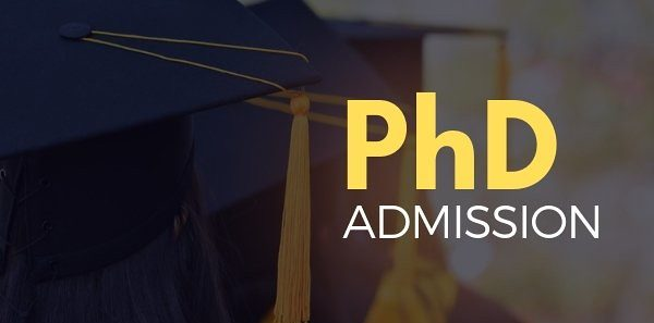 phd admission in india