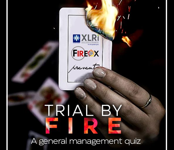 XLRI's Quiz Competition 'Trial by Fire' for All [Oct 17, Prizes Worth Rs. 40k]: Register Now