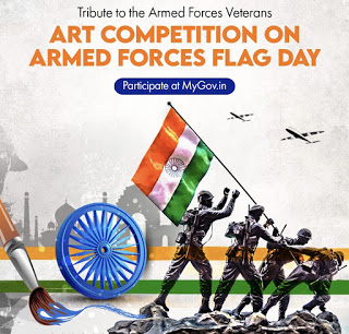 Art Competition on Armed Forces Flag Day
