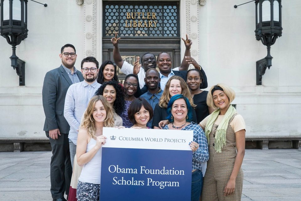 Obama Foundation Scholars Program 2021-22 at Columbia University
