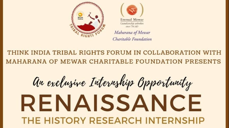 Online Renaissance- The History Internship by Think India Tribal Rights Forum [Dec 25-Feb 15]: Applications Open