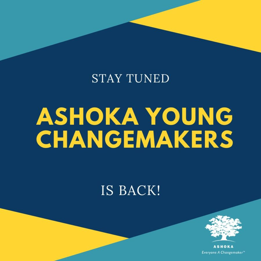 Call for Nominations: Ashoka Young Changemakers 2021: Applications Open