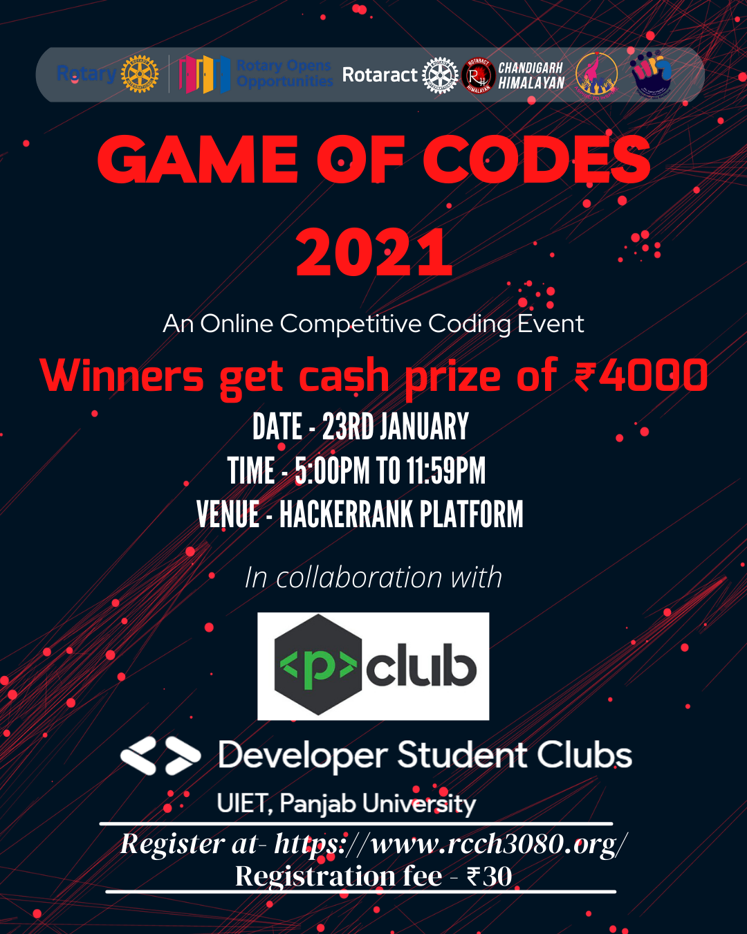 GAMES OF CODES 2021