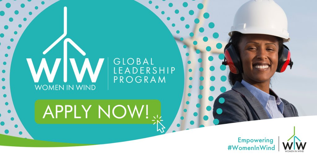 GWEC-GWNET Women in Wind Global Leadership Program 2021