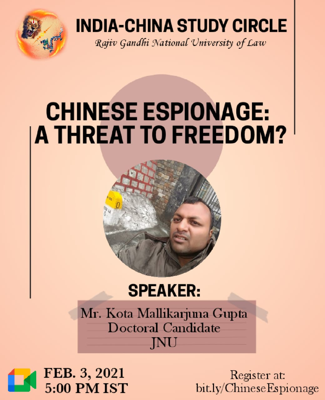 interactive session on Chinese Espionage: A threat to freedom?