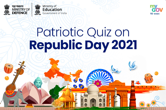 Online Patriotic Quiz on Republic Day 2021 by Govt of India: Register by Jan 30