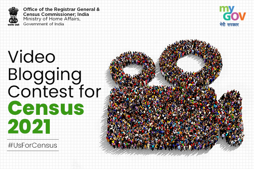 Video Blogging Contest for Census 2021 by Ministry of Home Affairs: Register by Jan 31