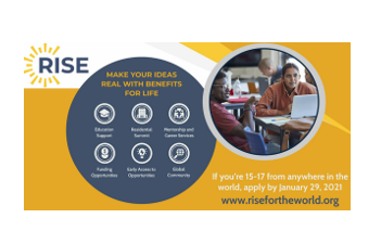 Rise Global Talent Program 2021 for Young Leaders: Apply by Jan 29