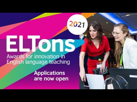 Call for Applications: British Council ELTons Innovation Awards 2021: Submit by March 21: Expired