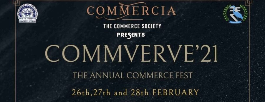 Commverve 2021- Online Commerce Fest by Sri Aurobindo College [Feb 26-28, Prizes Worth Rs. 40k]: Register by Feb 25