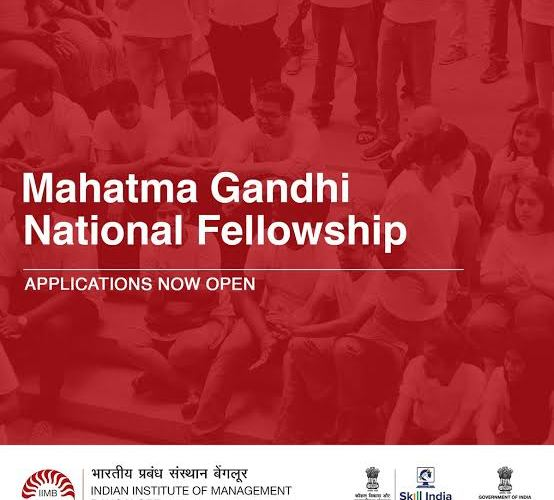 Mahatma Gandhi National Fellowship 2021