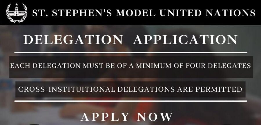 Call for Applications: St. Stephen's Model United Nations 2021 [Feb 26-28]: Registrations Open