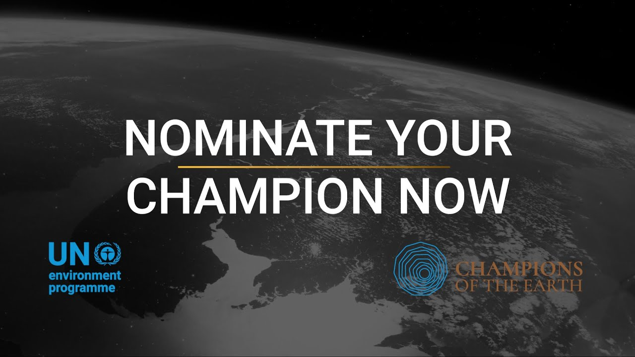 UNEP Champions of the Earth Award 2021