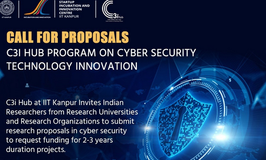 Call for Proposals: Cyber Security Technology Innovation 2021 by IIT Kanpur: Submit by Feb 26