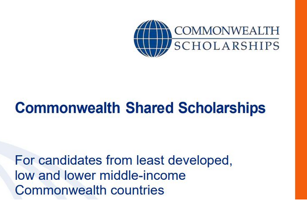 Commonwealth Shared Scholarships 2021-22: Apply by April 9