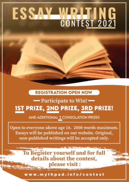 Essay Writing Contest 2021 by Myth Pad [Exciting Prizes]: Register by March 22