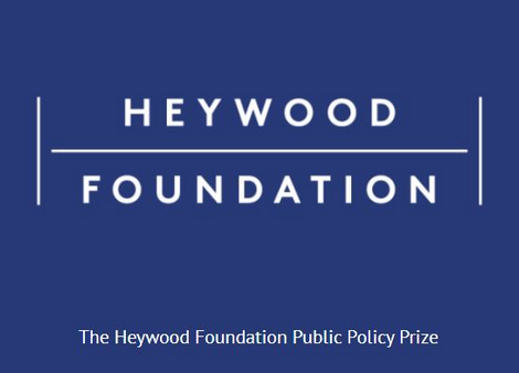 Heywood Foundation Public Policy Prize 2021 [Prizes Upto Rs. 22L]: Applications Open