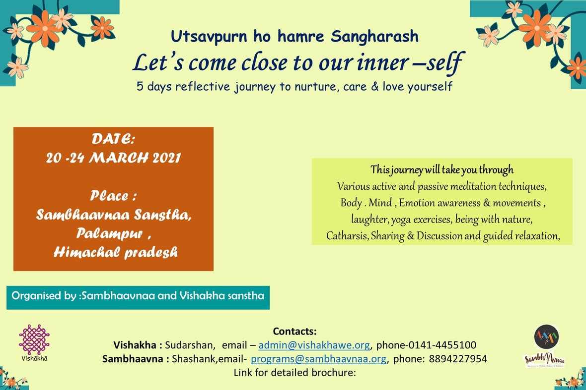 Sambhaavnaa Institute Workshop
