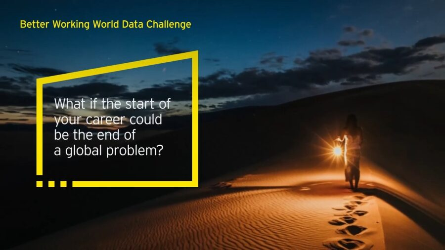 Ernst & Young (EY) Better Working World Data Challenge 2021 [Cash Prizes Worth Rs. 7 L]: Apply by June 15