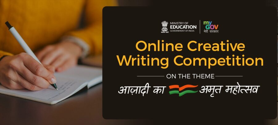 Online Creative Writing Competition for Class 6-12 Students by Govt of India: Apply by Apr 1