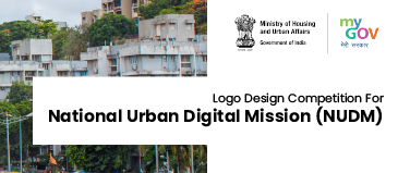 Logo Design Competition for National Urban Digital Mission (NUDM) by Govt of India [Cash Prize of Rs. 15k]: Submit by Mar 30