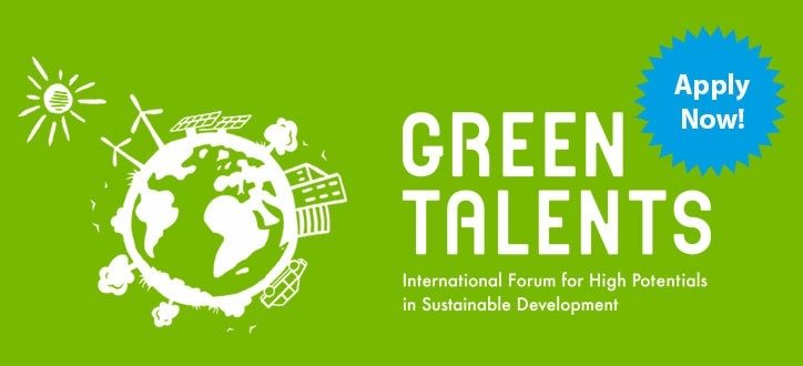 Green Talents Competition 2021 by Federal Ministry of Education and Research: Apply by May 19
