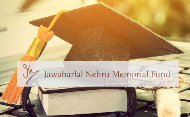Jawaharlal Nehru Memorial Fund Ph.D Scholarships 2021 [2 Years; Amount Upto Rs. 18k/Month]: Apply by May 31