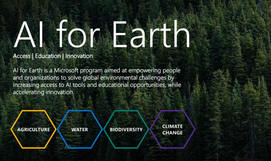 Microsoft AI for Earth Grants Program 2021 [Amount Upto Rs. 1 Cr]: Apply by Jul 5