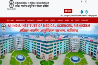 JOB POST: Medical Officers at AIIMS Rishikesh: Apply by June 18: Expired