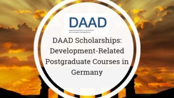 DAAD Scholarships Development Related Postgraduate Courses in Germany 2021-22: Apply by August 31