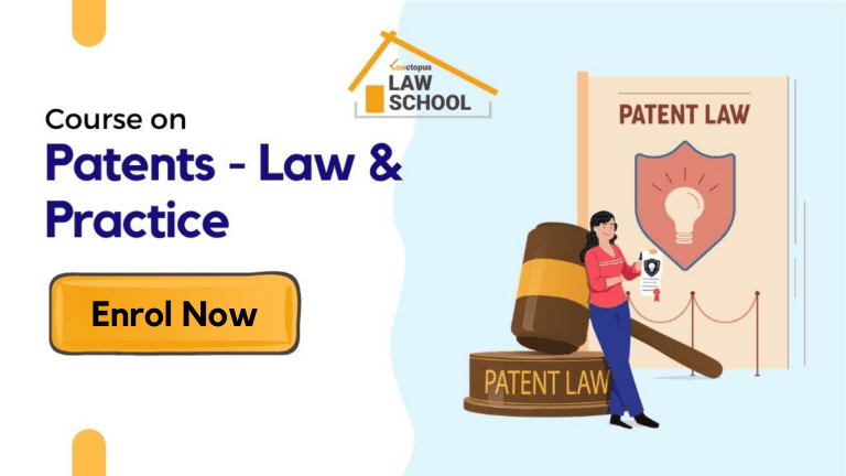 Lawctopus Law School's Online Certificate Course on Patents – Law and Practice [Sep 1-30; Co-Certified by NIPO]: Register by Aug 30!: Expired