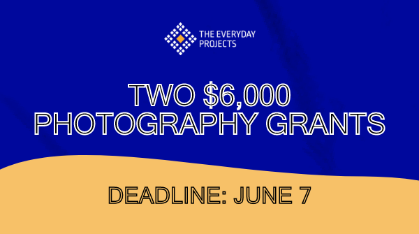 The Everyday Projects Grant 2021 for Photographers [2 Grants; Award Prize Rs 4.3 L+ Mentorship]: Submit by June 7: Expired