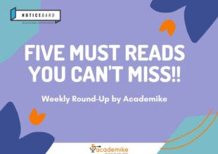 5 Must Reads You Can't Miss This Week: Editor's Choice