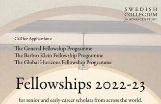 Barbro Klein Fellowship Programme 2022-23 [Stipend Available]: Apply by July 1: Expired