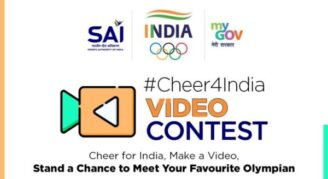 #Cheer4India Video Making Contest for Tokyo Olympics 2020 by MYAS (Govt of India): Submit by July 22: Expired