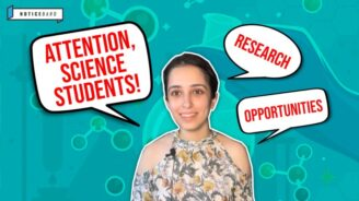 New YouTube Video: Exciting Research Opportunities for Science Students