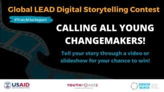 USAID Global LEAD Digital Storytelling Contest 2021: Register by July 23: Expired