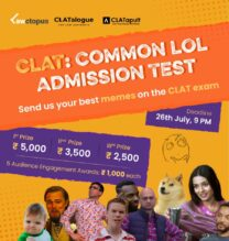 CLAT: Common LOL Admission Test – A Meme Making Competition [via CLATalogue]: Expired
