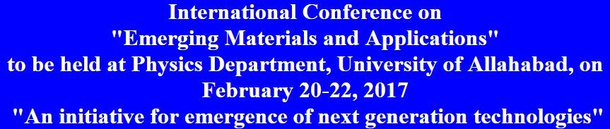 Allahabad university emerging materials conference