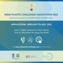 India Plastic Challenge 2021 for Students and Young Innovators [Prizes Upto Rs. 18L]: Submit by Aug 1: Expired