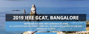 IEEE Global Confrence for Advancement in Technology @ Nagarjun College of Engineering and Tech, Bangalore