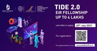 TIDE 2.0 EiR Fellowship 2021 by IIT Kanpur [Amount Upto Rs. 4 Lakhs]: Apply by July 20: Expired