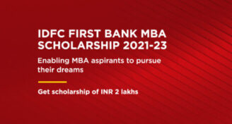 IDFC First Bank MBA Scholarships 2021-2023 [350 Students]: Apply by Sep 2: Expired
