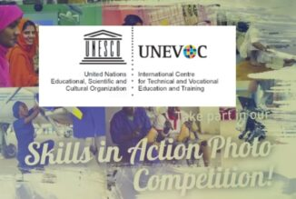 UNESCO – UNEVOC Skills in Action Photo Competition 2021 [Prizes Rs. 1.1 L]: Apply by Aug 31: Expired