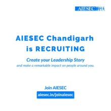 August Recruitments at AIESEC, Chandigarh: Apply by Sep 6: Expired