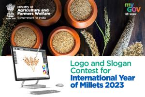 Logo and Slogan/Tagline Contest for International Year of Millets 2023 by MyGov [Prizes Upto Rs. 1.70 L]: Submit by Sep 17
