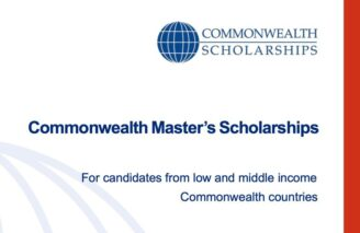 Commonwealth Master's Scholarships 2022-23 in the UK: Apply by Nov 1