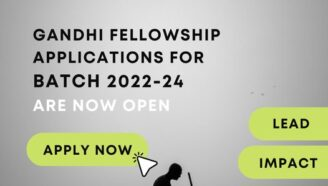 Gandhi Fellowship 2022-24 [2-Year Fellowship; Stipend of Rs 14k]: Apply Now