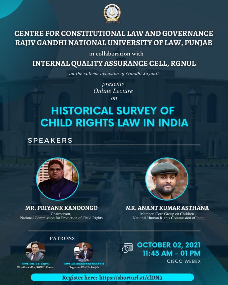 Historical Survey of Child Rights Law in India