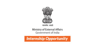Internship Opportunity at Ministry of External Affairs (MEA- Foreign Services) [1-6 Months, 32 Interns]: Apply Now